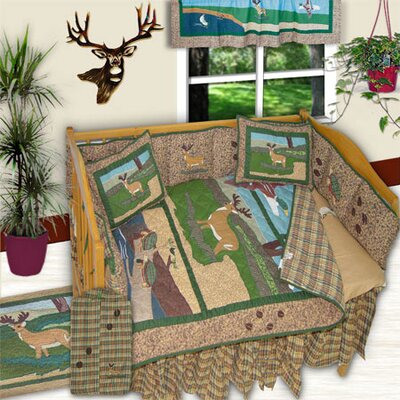 Wilderness 6 Piece Crib Bedding Set by Patch Magic
