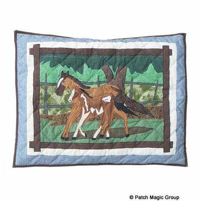 Patch Magic Horse Friends Pillow Sham