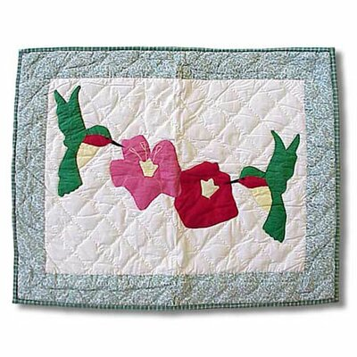Patch Magic Hummingbird Pillow Sham
