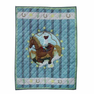 Lil Yeeehaw Crib Quilt by Patch Magic