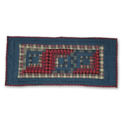 Cabin Table Runner by Patch Magic
