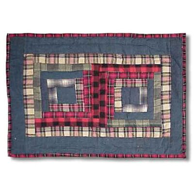 Patch Magic Red Log Cabin Placemat