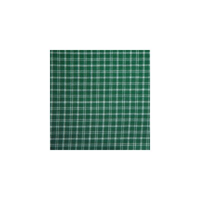 Green and White Plaid Napkin by Patch Magic