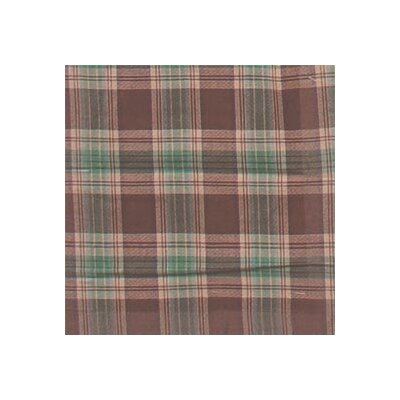 Brown and Green Plaid Napkin by Patch Magic