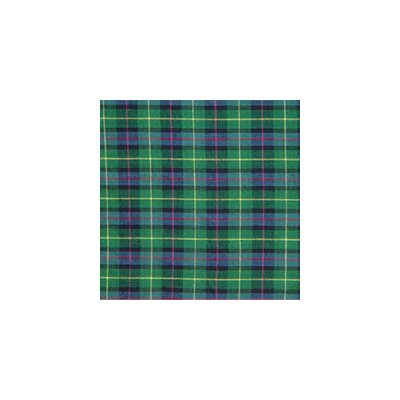 Patch Magic Green Tartan Plaid Cotton Bed Curtain Panels