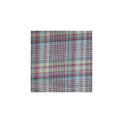 Patch Magic Red Lines and Off White Plaid Napkin