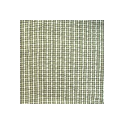 Checks with Ecru Bed Skirt / Dust Ruffle by Patch Magic