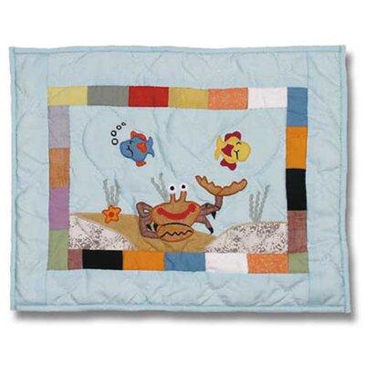 Kids Aquarium Cotton Boudoir/Breakfast Pillow by Patch Magic