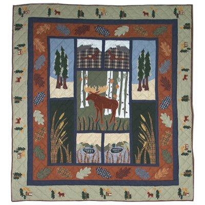 Patch Magic Moose Quilt