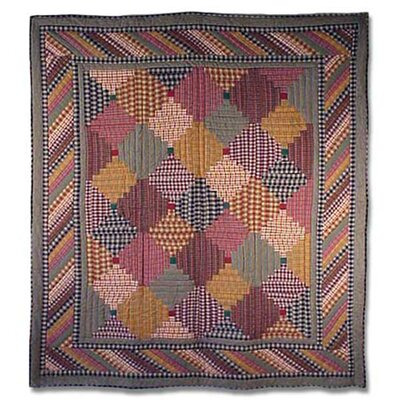 Harvest Log Cabin Quilt by Patch Magic