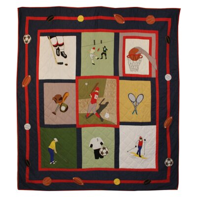 Play to Win Quilt by Patch Magic