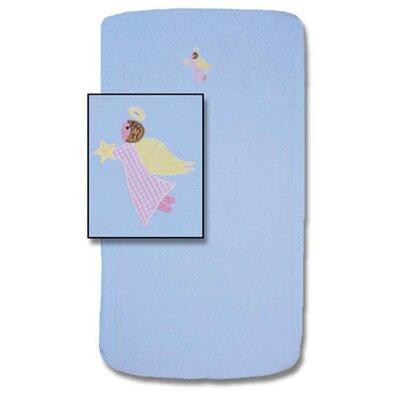 Patch Magic Flying Angels Crib Sheet