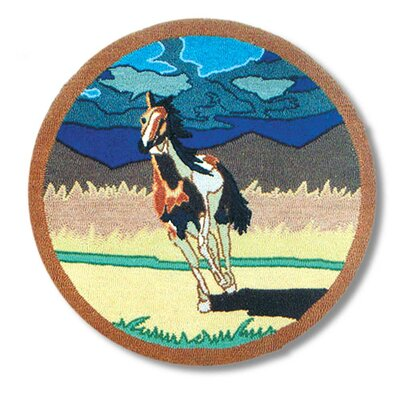Wild Horses Area Rug by Patch Magic