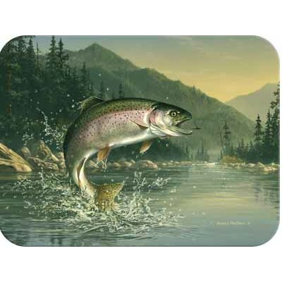 McGowan Tuftop Rainbow Trout Cutting Board
