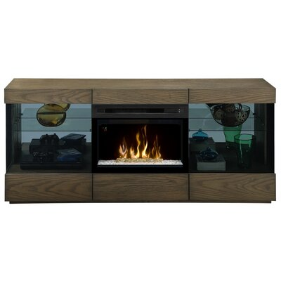 Axel Media Console Electric Fireplace by Dimplex