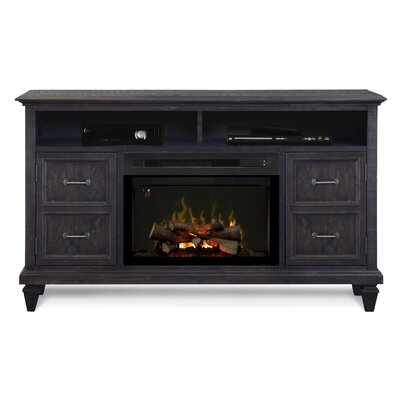 Solomon Media Console Electric Fireplace by Dimplex