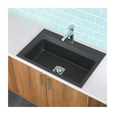 """Astracast 33"""" x 22"""" Workcenter Granite ROK Single Bowl Kitchen Sink"""