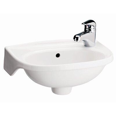 Tina Single Hole Wall Mount Bathroom Sink Product Photo