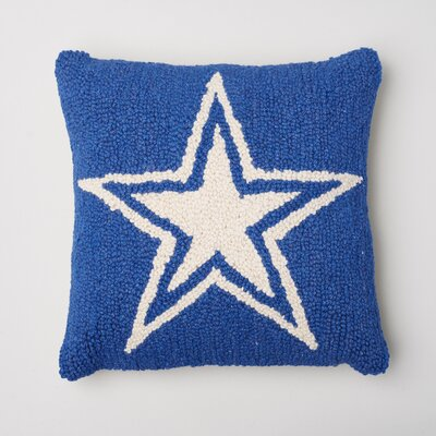 Amity Home Star Decorative Wool Throw Pillow