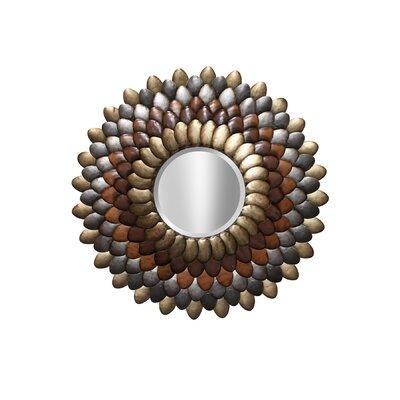 Round Leaf Petal Mirror by Style Craft