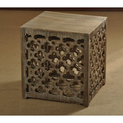 Quartrefoil Wooden Nesting Tables by Style Craft