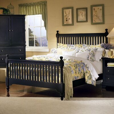 Cottage Slat Bed by Vaughan-Bassett