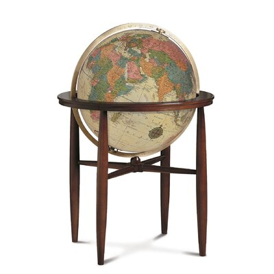Replogle Globes Finley Antique Illuminated World Globe