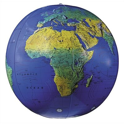 "Replogle Globes 16"" Inflate-A-Globes in Dark Blue"