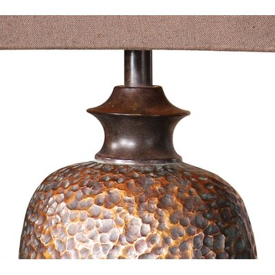 """Uttermost Amarion 33"""" H Table Lamp with Bell Shade"""