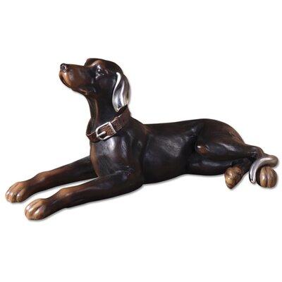 Resting Dog Figurine by Uttermost
