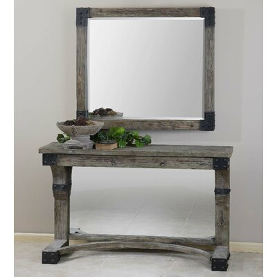 Nelo Console Table with Mirror by Uttermost