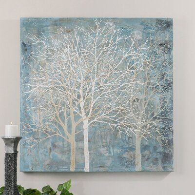 Muted Silhouette Original Painting on Canvas by Uttermost