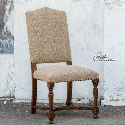 Pierson Textured Linen Side Chair by Uttermost