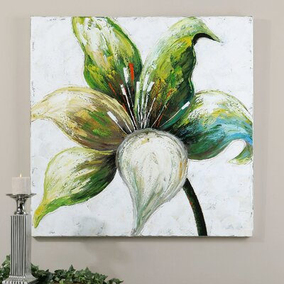 Lovely Lady Floral by Carolyn Kinder Original Painting on Canvas by Uttermost