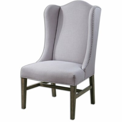 Aleela Linen Wingback Chair by Uttermost