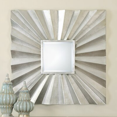 Adelmar Metal Square Mirror by Uttermost