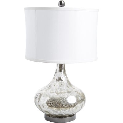 "Uttermost Vizzini 25"" H Table Lamp with Oval Shade"