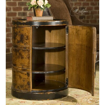 Lawton Drum Table by Uttermost