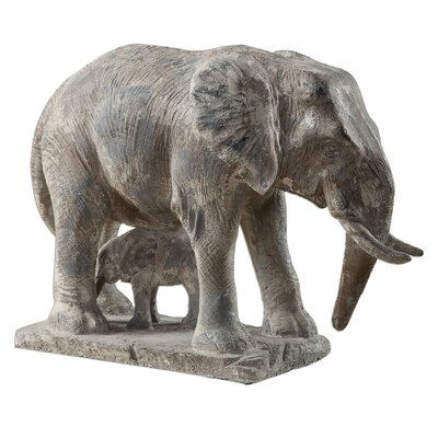 Standing Guard Elephant Statue by Uttermost