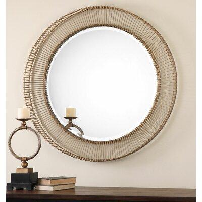 Bricius Round Metal Mirror by Uttermost