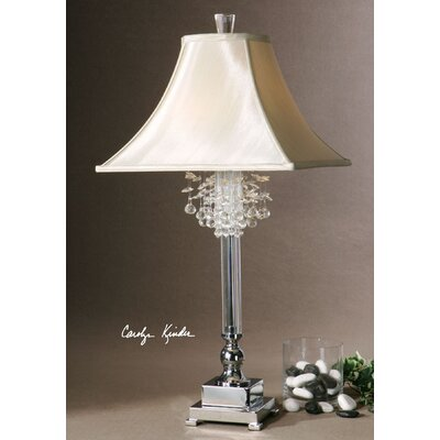 "Uttermost Fascination 32"" H Table Lamp with Bell Shade"