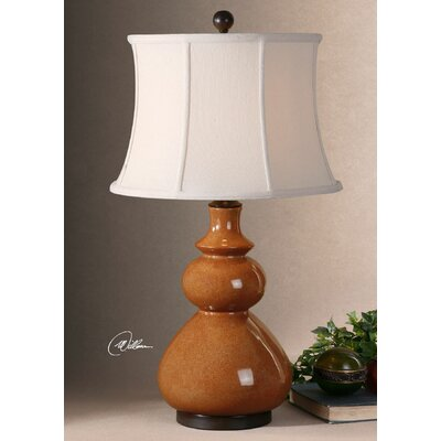 "Uttermost Belfast 31"" H Table Lamp with Bell Shade"