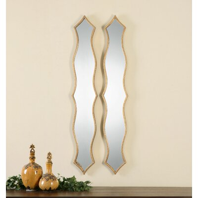 Morvana Curved Metal Mirror by Uttermost