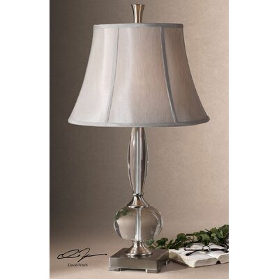 """Uttermost Labonia 31"""" H Table Lamp with Bell Shade"""
