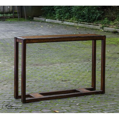 Deni Wooden Console Table by Uttermost
