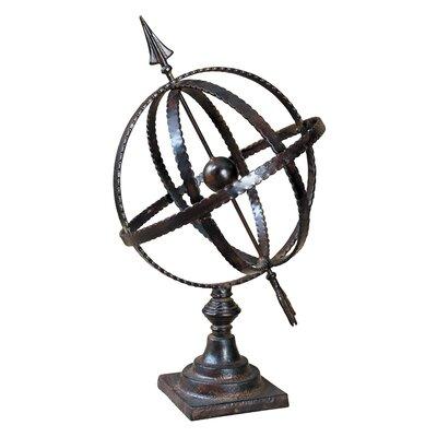 Uttermost Diez Metal Globe in Antique Brown