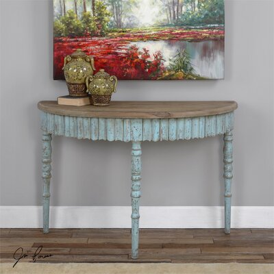 Seamus Wood Console Table by Uttermost