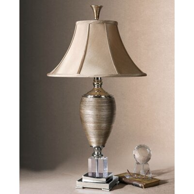 """Uttermost Abriella 33"""" H Table Lamp with Bell Shade"""
