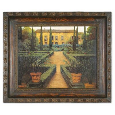 Garden Manor Framed Painting Print by Uttermost