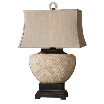 """Uttermost Cumberland 29"""" H Table Lamp with Rectangular Shade"""